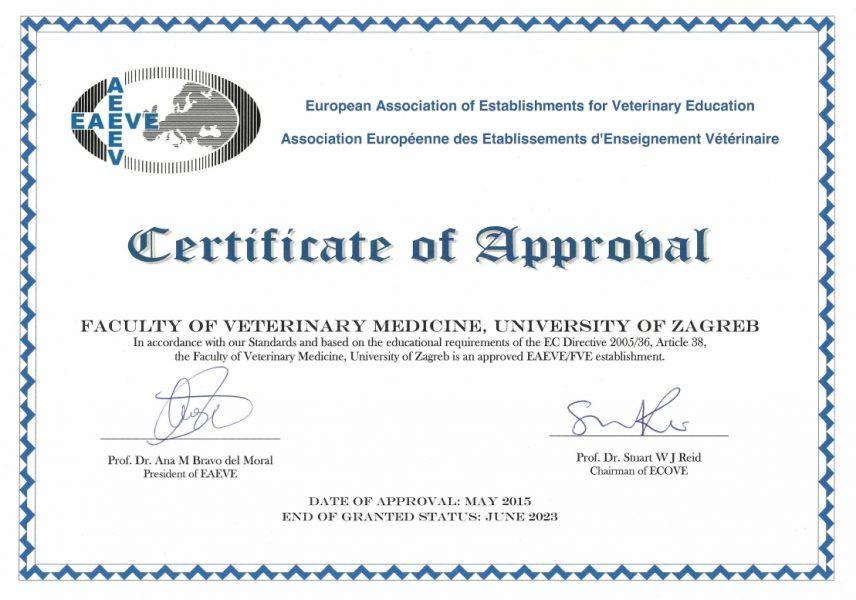 EAEVE - Veterinarski fakultet
