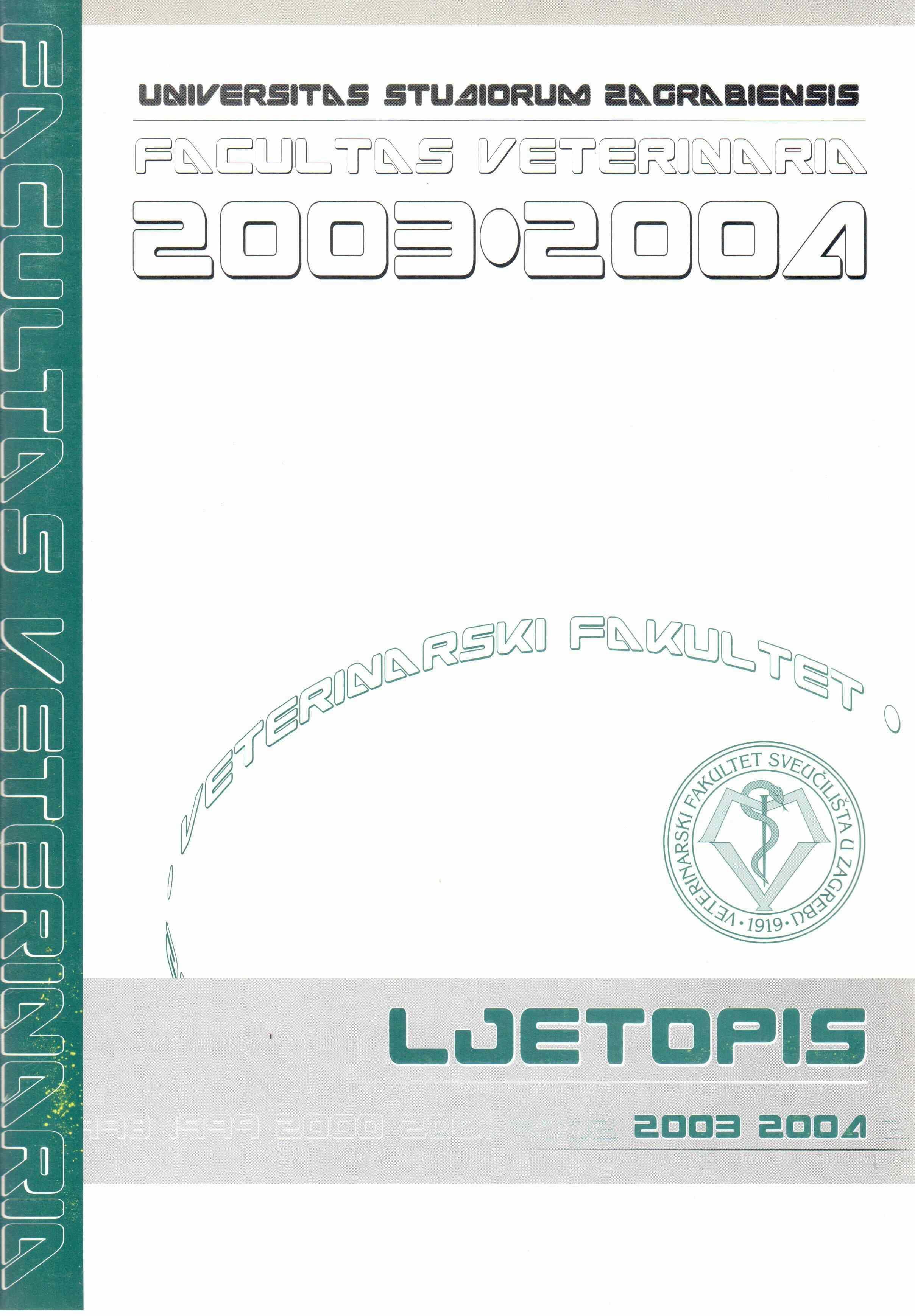 Ljetopis 2003-2004