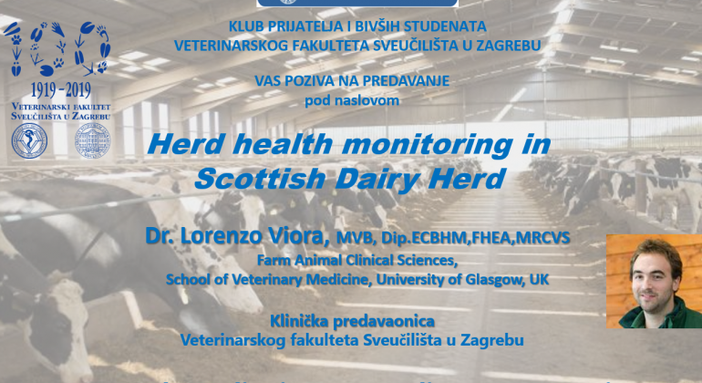 Herd health monitoring in Scottish Dairy Herd