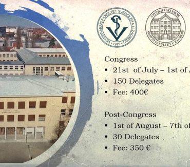 68th IVSA Congress in Croatia