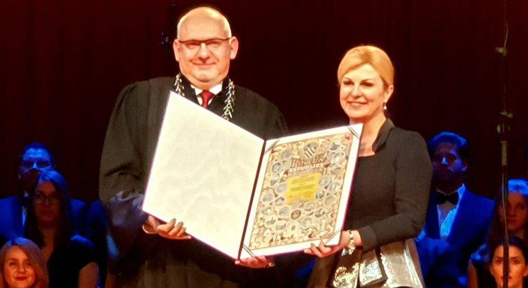 Veterinarskome fakultetu Sveučilišta u Zagrebu dodijeljena Povelja Republike Hrvatske