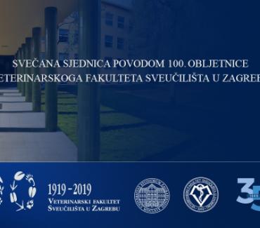 Svečana proslava 100. obljetnice Veterinarskoga fakulteta Sveučilišta u Zagrebu