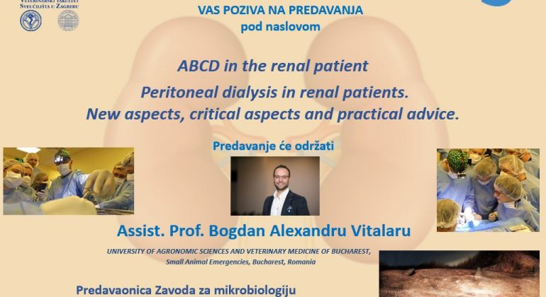 PREDAVANJA: ABCD in the renal patient. | Peritoneal dialysis in renal patients. | New aspects, critical aspects and practical advice.