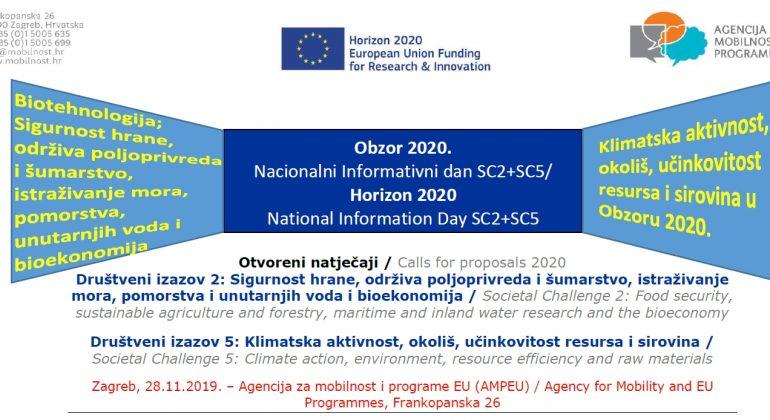 Informativni dan za Obzor 2020; društveni izazovi 2 i 5
