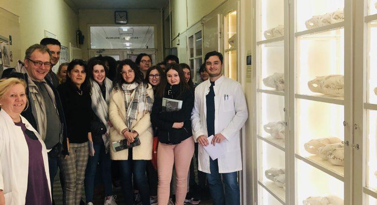 Posjet francuskih učenika Veterinarskome fakultetu u Zagrebu