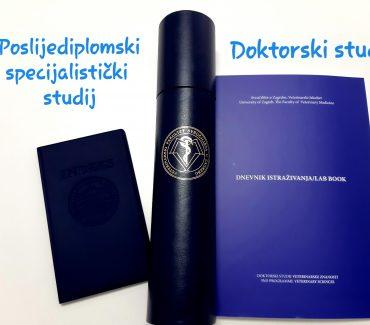 Natječaj za upis na doktorski studij Veterinarske znanosti i poslijediplomske specijalističke studije u ak. god. 2020./2021.
