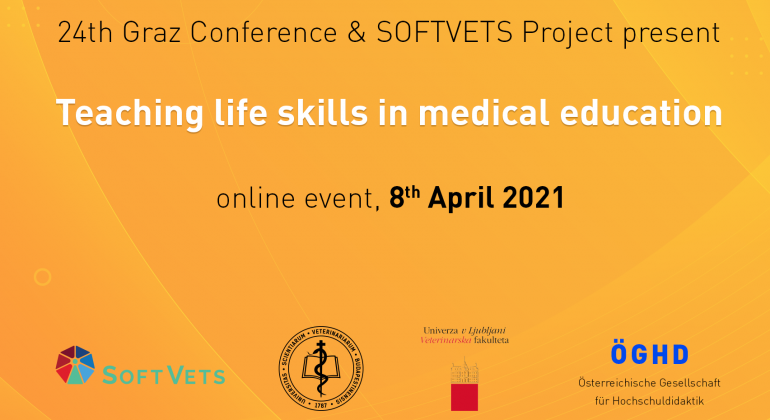 """SOFTVETS """"Teaching life skills in medical education"""" conference"""