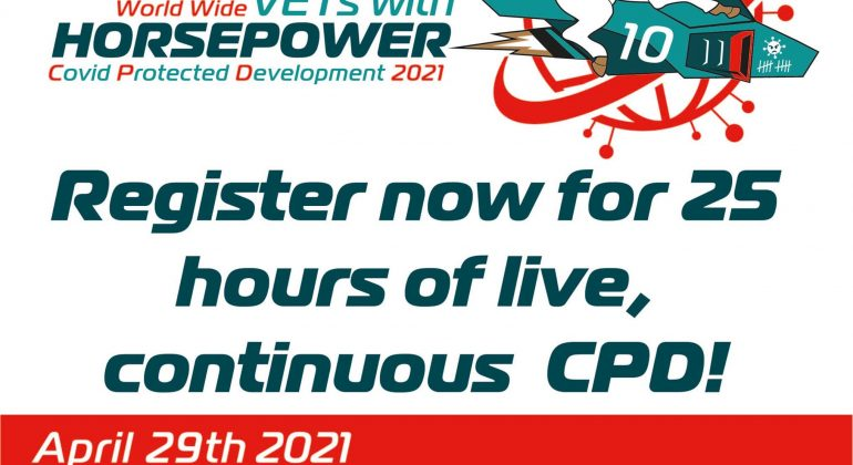 Vets with Horsepower – 25 hour of continuous CPD on equine