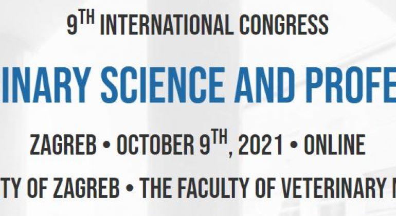 """9. međunarodni kongres """"Veterinarska znanost i struka"""" 2021"""
